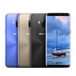 2019 4g lt chinesischen android entriegelt Bluboo S8 5,7 '' HD 18: 9 Full Display 4G Smartphone MTK6750 Octa-Kern 3 GB RAM 32 GB ROM Dual-Rückfahrkamera Android 7.0 Handy