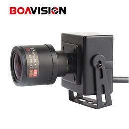 Wholesale Mini Lens Varifocal - HD 1080P Mini IP Camera 2MP ONVIF 2.8-12mm Manual 4x Zoom Varifocal Lens P2P Plug and Play CCTV Camera Realtime 25 30fps