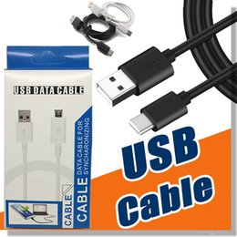 Wholesale Phone Line Wiring - Micro USB Cable Type C Charger Cable Charging Cable Wire Cord Sync Data Line Adapter For Android Phone With Retail Box