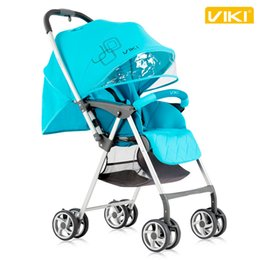 Wholesale two way stroller - High Landscape Ultra-light Folding Baby Stroller Pram, Portable Baby Trolley, Two-way Available Child Pushchair, Fashion Baby Umbrella Cart