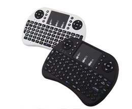 Wholesale Multi Media Keyboards - 2017 Wireless Keyboard Rii i8 Keyboards Fly Air Mouse Multi-Media Remote Control Touchpad Handheld for Smart TV BOX S905X Android Mini PC