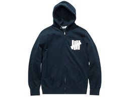 Wholesale Undefeated Xl - Undefeated 5 Strike Zip Hoodie Five Barrels