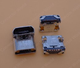 Wholesale Galaxy Grand Duos Wholesale - 5pcs Lot Micro 7PIN USB Port Charger Charging Connector Port for Samsung Galaxy Grand DUOS i9082 I879 I869 I8552 socket plug