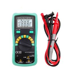 Wholesale Auto Range Meter - 2000 Counts Digit LCD Display Digital Mulitmeter Auto Range Voltage Current Resistance Frequency Tester Smart Meter
