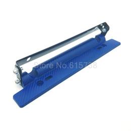 Wholesale Nissan Racing - Blue NEW Racing adjustable Carbon Fiber number License Plate Relocator Frame Bracket Hold