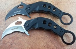 Wholesale Survival Tech - Blade-Tech Rip Tide karambit Claw Knife AUS-8 blade G10 handle claw mini claw camping survival knives Xmas gift knife 1pcs