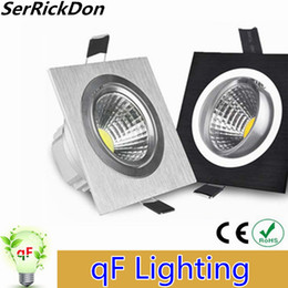 Wholesale Power Saving Switches - Wholesale- Free shipping 1PCS high power aluminum led cob dimmable ceiling light AC110V-240V 6W 10W 14W dimming cob led downlight(CE&ROHS)