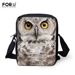 Wholesale Bronze Cute Owl - Wholesale-1PC Cute Animal Bag Ladies Owl Obliqu Satchel Bags Small Canvas Women Handbag Girls Messenger Bag Cross body With Zipper