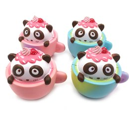 Wholesale Air Soft Guns Wholesale - Panda Bowls Squishy Real Reborn Baby Dolls Bulk Venting Ball Anger Stress Reliever Ball Toy Against Humanity Anti Stress Air Soft Guns