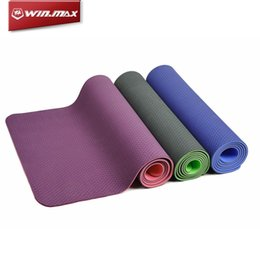 Wholesale Gym Exercise Mats - Yoga Mats Pilates WINMAX Fitness Gym Exercise Sport Pilate Camping Non-Slip Mat Sports & Outdoors Fitness Supplies