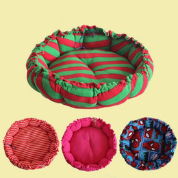 Wholesale Dog Kennel Cushions - Cute Pet Bed Cushion Paw Dog Bed Mat Cozy Soft Puppy Dog House Warming Kennel Waterproof Pad Free Shipping
