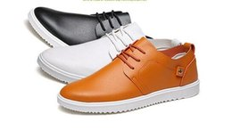 Wholesale Korean Style Sport Shoes - In the spring of 2017 British style leather shoes fashion trend of Korean leisure male sports shoes business casual shoes
