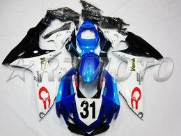 Wholesale Suzuki Racing Gsx - New Injection ABS bike Fairing set For SUZUKI GSXR600 GSXR750 GSX-R600 GSX-R750 K11 GSXR 600 750 2011 2012 2013 2014 2015 Racing number 31