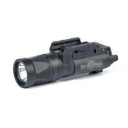 Новый SF X300V - ИК фонарик тактический светодиодный белый свет и ИК-выход Fit 20 мм Picatinny Rail отмеченная версия черный cheap lighting mark от Поставщики световой знак