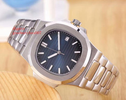 Wholesale Multicolor Sapphire - HOT NEW Luxury Brand 5711 1A Men's hight quality automatic watches Stainless Steel Men Nautilus Multicolor dial Sports watch top fashion wat