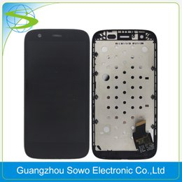 Wholesale Buy Touch Screens - Best buy lcd touch panel ecran best lcd screen For Moto G XT1032 XT1033 digitizer pantalla Free DHL Shipping