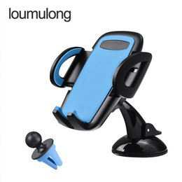 Wholesale Air Condition Auto - Auto mobile scaffold Silicone sucker vehicle-mounted navigation air-conditioning outlet multi-function viscous hot style