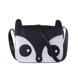 Wholesale Owl Fox Bag Handbag - Wholesale- 2015 new fashion women messager bags women PU leather handbag cartoon bag owl fox shoulder bags