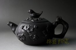 Wholesale Zisha Yixing Teapots - New Chinese yixing zisha Handwork Purple Clay (ZhuNi) picapica TeaPot 150CC