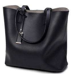 Wholesale Ladies Handbags For Travelling - Woman Shoulder Bags Luxury Handbags Ladies Women Brief Bags Fashion Designer High Capacity Totes For Travelling Microfiber Pu Leather Bucket