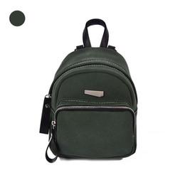 Wholesale Boys Skull Denim - Nubuck Leather Shoulder Bag Handbag small backpack female leisure backpack