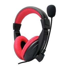 Wholesale High Definition Games - Wired 3.5mm Headset with Microphone Earphones Gaming Belt Game Headphones for Computer PC Laptop High-Definition Microphones