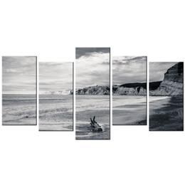 Coastal View Toile Peinture Mer Plage Paysage HD Image Giclée Impression Paysage Marin Impressions Sur Toile Pour La Décoration Intérieure ? partir de fabricateur