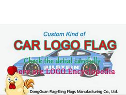 materiali all'ingrosso portachiavi Sconti CUSTOM tipo di auto logo FLAG, controllare i dettagli, 90 * 150CM, 100D poliestere personalizzato 100% poliestere 90 * 150 cm, stampa digitale