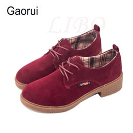 Wholesale Wholesale Wind Shoes - Wholesale- Women Shoes Sale New Fahion Women Korean Version Influx Fragrant Wind Singles Oxfords Casual England Style Oxford Shoes