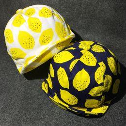 Wholesale Devil Hats - Multicolor Baby cute soft peaked baseball cap lemon stars little devil ox horns infants adjustable casual hat spring autumn for 6-24m