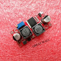Wholesale Step Up Down - Wholesale- Boost Buck DC-DC Adjustable Step Up Down Converter XL6009 Power Supply Module 20W 5-32V to 1.2-35V (hong)