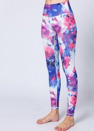 Wholesale Cheap Printed Leggings - Colorful 3D Print Yoga Pants Fitness Yoga Leggings Push Up Running Sport Tights Women Workout Yoga Clothing Cheap Shop Online