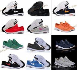 Wholesale Sneakers Women Max - Hot Sale SB Stefan Janoski Max Running Shoes Men And Women Fashion Konston Lightweight Skateboard Athletic Sneakers Maxes Size 36-45