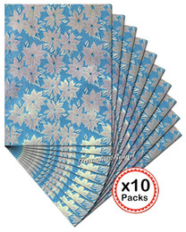 Wholesale Sego African Headtie - 10 sets per lot High grade Beaded SEGO Headtie African gele and Ipele Head Tie Wrapper 2283