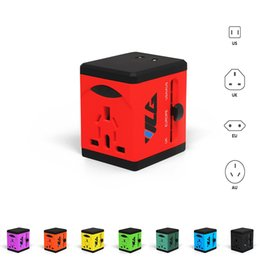 Wholesale International Phones - Travel Adapter and Charger USB Charging Ports Super Fast Charging All International Standard Cell Phone Desktop Laptop Tablets