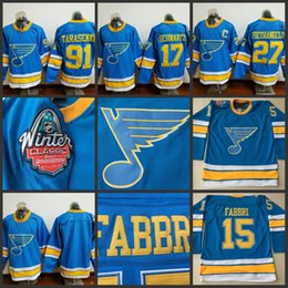 Wholesale Hockey Jersey St Louis - St. Louis Blues 2017 Winter Classic Premier Hockey Men 91 Vladimir Tarasenko 27 Alex Pietrangelo 17 Jaden Schwartz #42 Backes Hockey Jersey