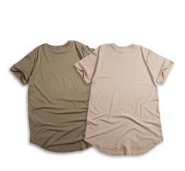 bd0a6e2c83 2019 camiseta swag Atacado- 2016 s   s homens estendido kanye t-shirt de