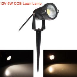 Gros-12V 5W Led lampes de gazon COB IP65 étanche ampoule LED spot d'inondation pour éclairage extérieur chemin de bassin de jardin avec l'insertion aiguille ? partir de fabricateur