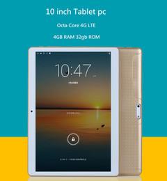 Wholesale Mini Pc Ram 4gb - Wholesale- DHL free shipping 2016 Newest 10 inch Tablet PC Octa Core MTK8752 4G Phone Call Tablet 4GB RAM 32GB ROM 1280*800 mini PAD