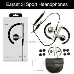 Wholesale Earphones Run - EARSET 3I Sports Headphone Running Earphone High quality Universal 3.5mm For xiaomi Android IOS Phones fone de ouvido Free shipping
