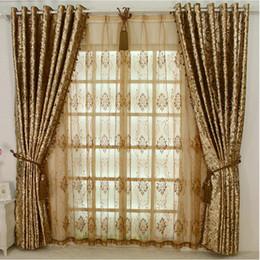 weiße schmetterlingsvorhänge Rabatt NEUE ANKUNFT Europen Style LUXURY Palace Vorhang mit Perlen für Hotel / Villa / Wohnzimmer Nach Maß Goldenes Elfenbein Dunkelbraun