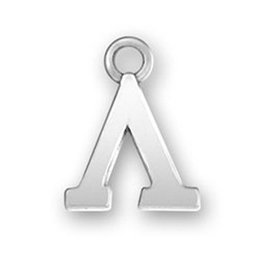 Wholesale Greek Charms - Antique Silver Plated Letter Lambda & Greek & Phi & Pi Charms Letter Charms for DIY Jewelry Making 100Pcs lot