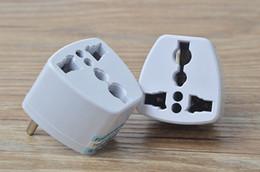 Wholesale Universal Socket Converter - Universal Portable Travel Adaptor AU EU US to UK Adapter Converter AC Power Wall Plug 3 Pin Home Charger Connector Socket