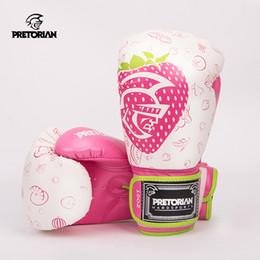 Wholesale Gear Boxe - 2017 Pretorian Professional Boxing Gloves Twins Muay Thai Mma Fitness Grant Luva De Boxe Sparring Sarung Tinju Wearable Gloves Gear