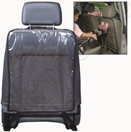 Wholesale Car Seat Covers For Dogs - Car Seat Back Protectors Cover For Children Dogs Kick Mat Mud Clean Auto 2 Colors OOA1187