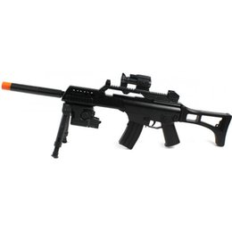 Wholesale Airsoft Electric Rifle - G36 R36 TACTICAL ELECTRIC AEG AIRSOFT RIFLE w  6mm BB Sniper Gun Light Air Scope