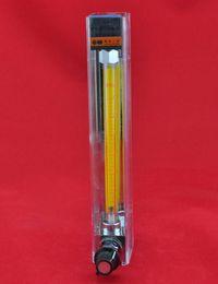Types de vannes de contrôle en Ligne-LZB-6F, débitmètre rotamètre en acier inoxydable (type résistant à la corrosion) avec vanne de régulation pour liquide. conectrator