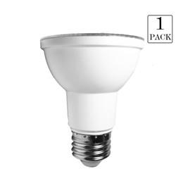Canada Ensemble de 1 lampe à spot PAR20 à intensité réglable 7W AC120V 2700K 3000K 5000K blanc doux / chaud / naturel E26 550lumens Spot (équivalent 50w) Offre