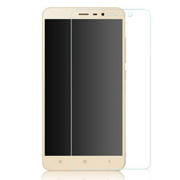 Vetro temperato Premium HD 9H 0.26mm di alta qualità per Xiaomi Redmi Note2 / REDmi Note3 / Mi4i / xiaomi 4S / xiaomi 5 / Film rosso Screen 3 100pcs / Lot da schermo mi4i fornitori