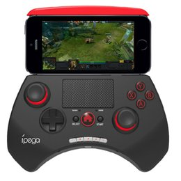 Wholesale Wireless Tvs - iPEGA PG 9028 Wireless Bluetooth Game Controller Joystick Gamepad with Touchpad Support for Android for iOS for Android TV Box